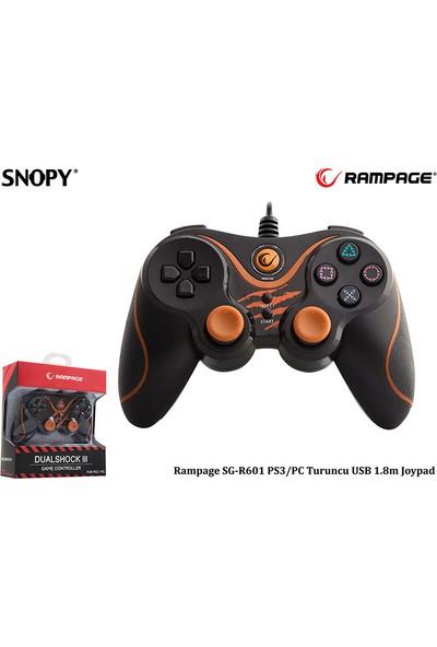 Snopy Rampage Ps3/Pc Turuncu Usb 1.8M Joypad