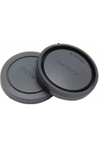 Sony Alpha Body Lens Kapak Seti