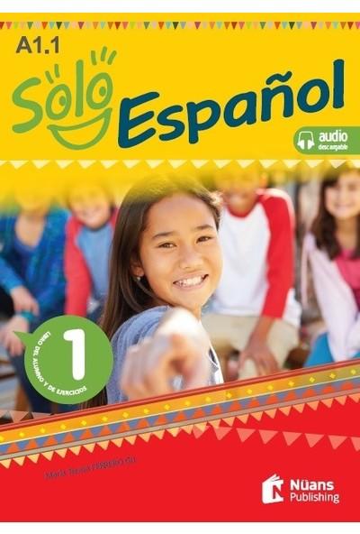 Solo Español 1 (A1.1) Libro Del Alumno Y De Ejercicios +Audio Descargable - María Teresa Ferrero Gil