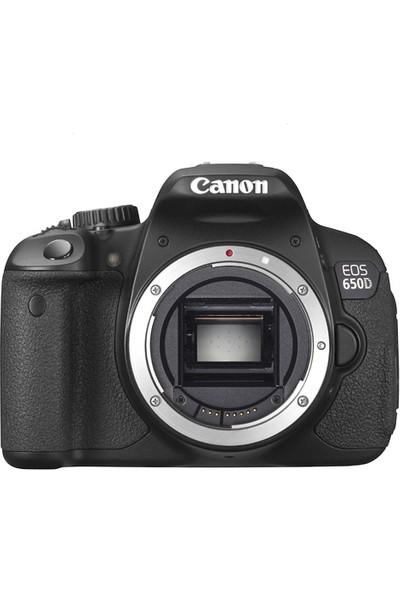 Canon Eos 650D 18-55MM Dc Iii Lensli Dslr Fotoğraf Makinesi