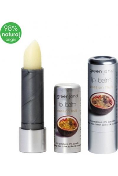 Greenland Lip Balm Parabensiz ve Parafinsiz Dudak Kremi Çarkıfelek Meyvesi Lipstick 3.9 G