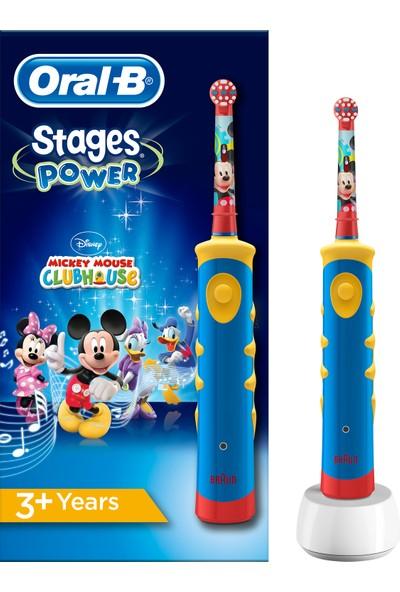 Oral-B Mickey Mouse Çocuklar İçin Şarj Edilebilir Diş Fırçası (3+ Yaş)