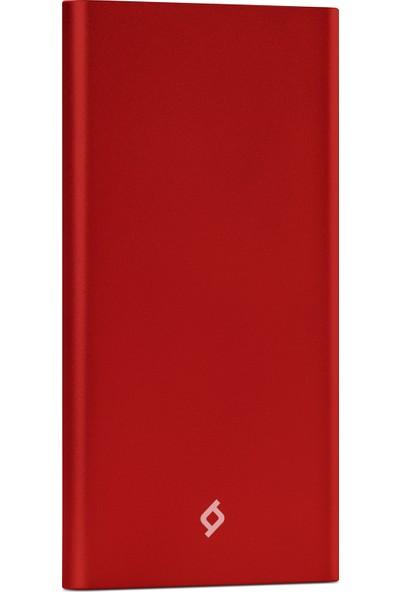 Ttec AlumiSlim S 5000mAh Taşınabilir Şarj Aleti Powerbank Kırmızı