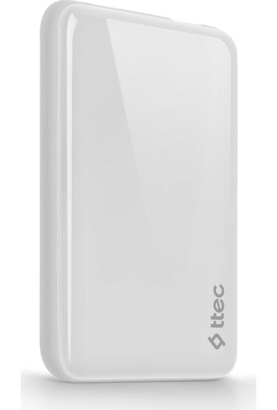 Ttec ReCharger 5000mAh Taşınabilir Şarj Aleti - Beyaz