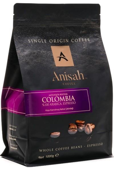 Anisah Bolivar Espresso Çekirdek Kahve Koyu Kavrulmuş 1000 gr