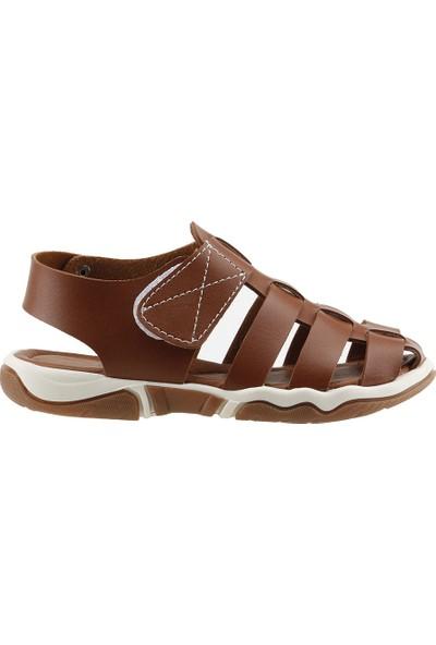 Sanbe 501N7401 Anatomic Günlük Erkek Çocuk Sandalet Kahverengi
