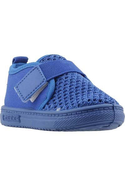 Sanbe 401N002 Anatomic Günlük Kız/Erkek Çocuk Keten Spor Ayakkabı Mavi