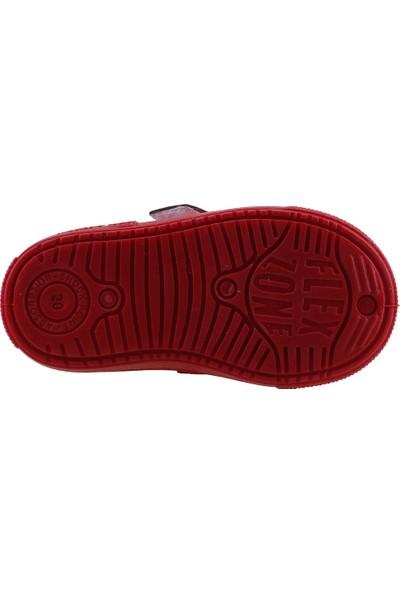 Sanbe 401N002 Anatomic Günlük Kız/Erkek Çocuk Keten Spor Ayakkabı Kırmızı