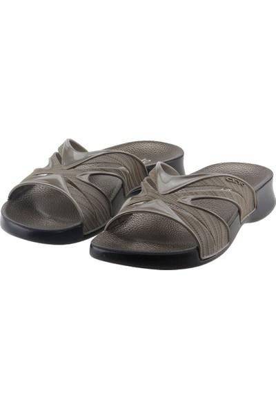 Ceyo 3400-14 Günlük Anatomik Kadın Terlik Ayakkabı Haki