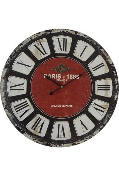 Bahattedarik Saray Ahşap Duvar Saati 60 cm