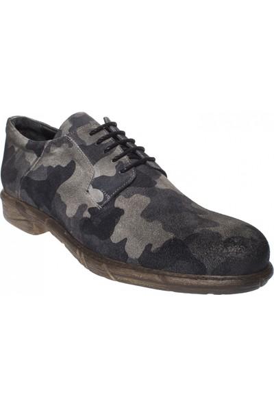 F.Marcetti 240071 Gunluk Klasik Kamuflaj Erkek Ayakkabı