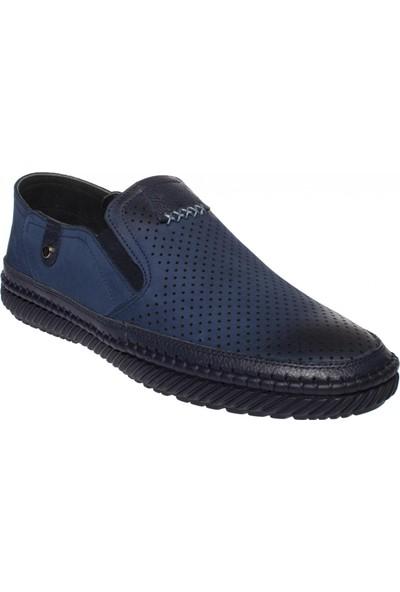 F.Marcetti 65805 Gunluk Klasik Lacivert Erkek Ayakkabı