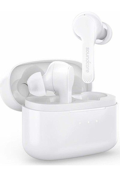 Anker SoundCore Liberty Air Stereo Kablosuz Bluetooth 5.0 Kulaklık - 20 Saat'e Varan Kullanım - Beyaz - A3902