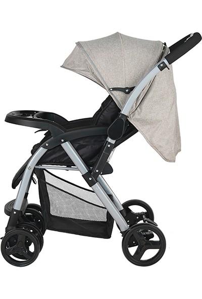 Sunny Baby Bella Çift Yönlü Bebek Arabası Gri