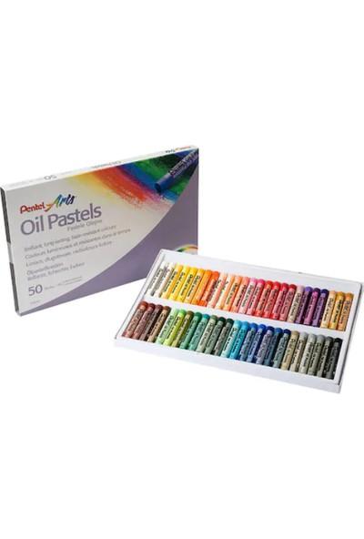 Pentel Pastel Boya Yağlı Phn50 50 Renk