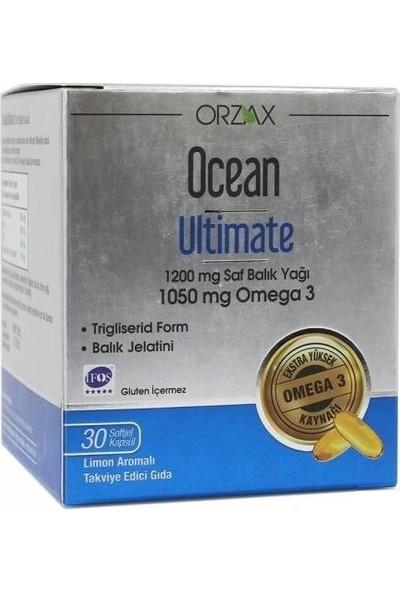 Ocean Ultimate 1050 mg Omega 3 Balık Yağı 30 Kapsül