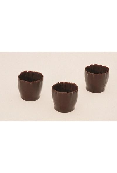 Callebaut Bitter Çikolatalı Küçük Oyuklu Kuplar - 1.3 kg