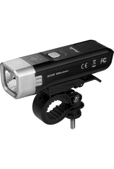Fenix BC25R USB Şarjlı Bisiklet Feneri 600 Lümen