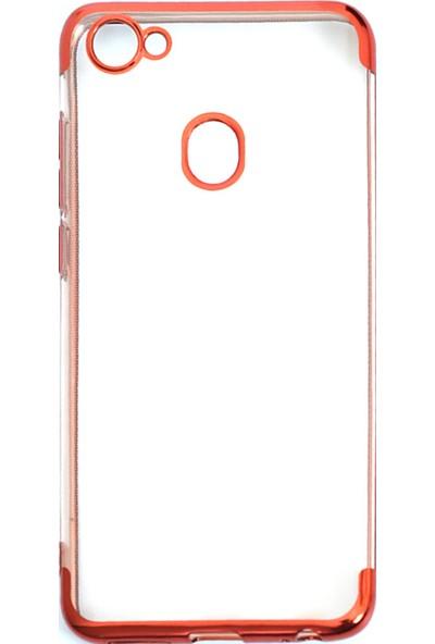 KNY Casper Via G3 Kılıf 4 Köşe Renkli Şeffaf Laser Silikon+Nano Cam Ekran Koruyucu