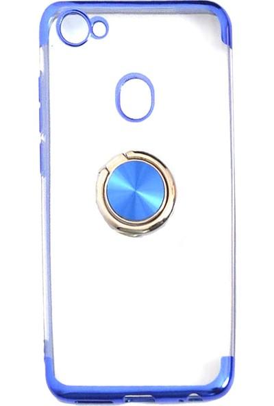KNY Casper Via G3 Kılıf Yüzüklü 4 Köşe Renkli Şeffaf Gess Silikon+Nano Cam Ekran Koruyucu