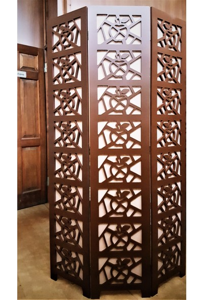 Artrustic Ahşap Paravan 170 x 35 cm