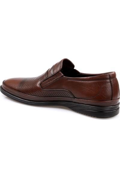 Tardelli Erkek Kahve Günlük Deri Ayakkabı