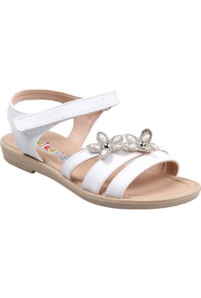 Vetta Girls Kız Çocuk(31-36) Beyaz Sandalet