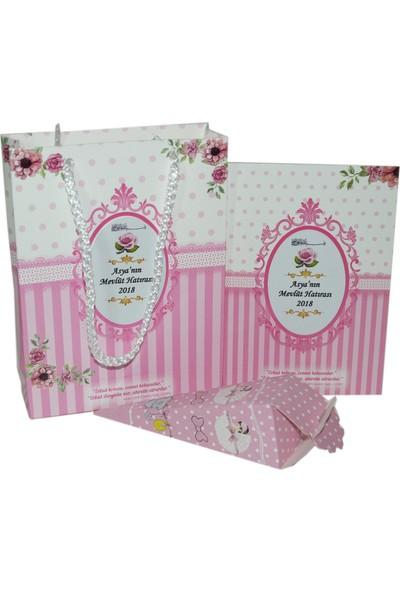 Süslü Şekerleme Yasi̇n + Karton Çanta+ Lokum Kutusu Bebek Şekeri̇ Sünnet Şekeri̇ Mevlüt