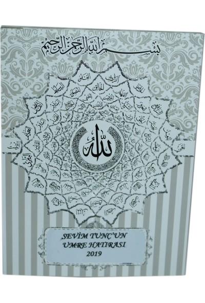 Süslü Şekerleme Esmaül Hüsna Allahin 99 İsmi̇ Yazili Si̇mli̇ Kabartma Kapak Yasi̇n Çanta Boy Mevlüt Hac Umre