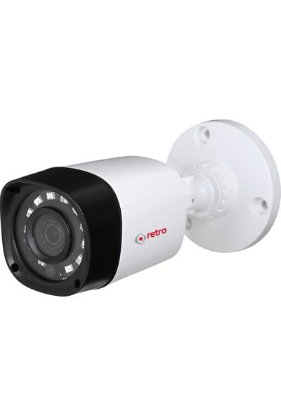 Retro Rd-1200R-B 2Mp 1080P 2.8Mm Ir Bullet Hd-Cvı Kamera