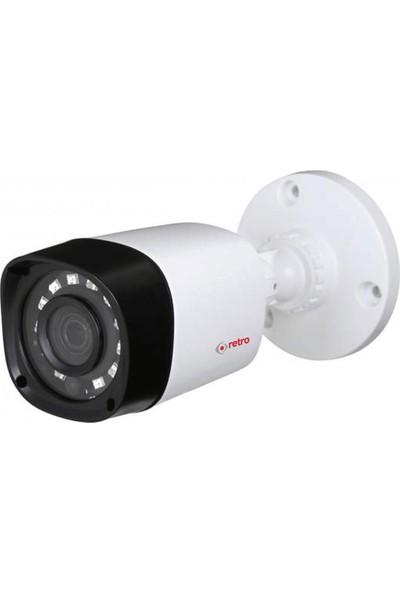 Retro Rd-1400R-B 4Mp 3.6Mm Ir Bullet Hd-Cvı Kamera