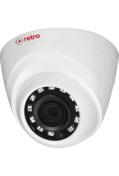 Retro Rd-1200R-D 2Mp 1080P 2.8Mm Lens Ir Dome Hd-Cvı Eyeball Kamera