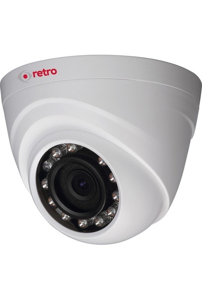 Retro Rd-1000Rp-D 1Mp 2.8Mm Lens Ir Dome Hd-Cvı Kamera