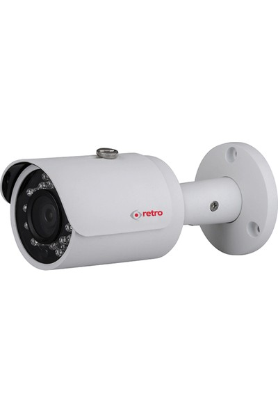 Retro Rd-1200S-B 2Mp 3.6Mm 30Mt Ir Bullet Hd-Cvı Kamera