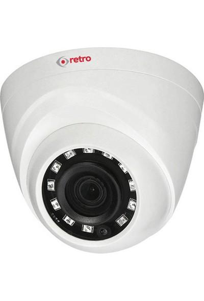 Retro Rd-1400R-D 4Mp 3.6Mm Lens Ir Dome Hd-Cvı Eyeball Kamera