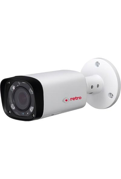 Retro Rd-2221Rp-B 2Mp 2.7-12Mm Varifocal 60Mt Ir Bullet Ip Kamera