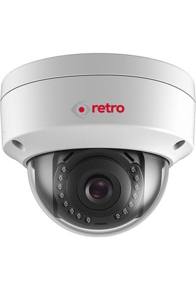 Retro Rt-2Cd1141 4.0Mp 2.8Mm Lens Poe Ip Dome Kamera