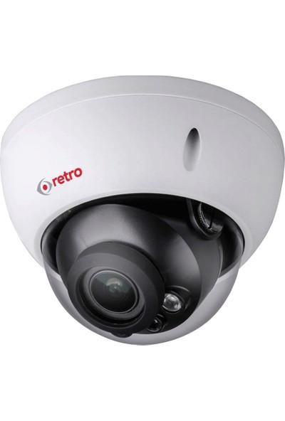 Retro Rd-1200R-Vf-D 2Mp 2.7-13.5Mm Lens Ir Dome Hd-Cvı Kamera