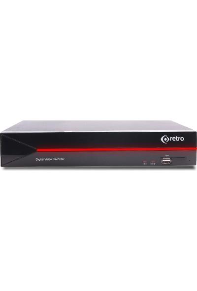 Retro Rt-8404P 4 Kanal 1080P 1Xsata 1Xses Xvr Kayıt Cihazı