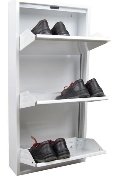 Minka Home Metal Ayakkabılık 3'lü