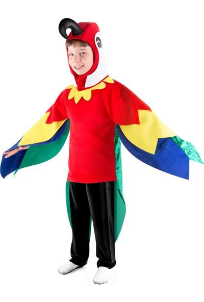 Oulabimir Papağan Kostümü Çocuk Kıyfeti