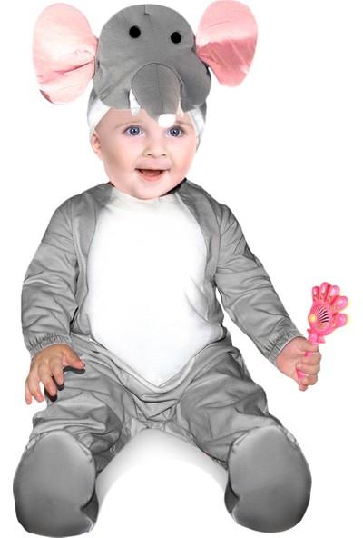 Oulabimir Fil Kostümü Bebek Kıyafeti