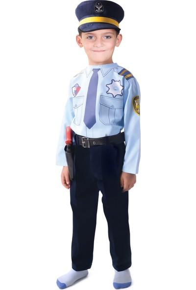 Oulabimir Polis Kıyafeti Çocuk Kostümü