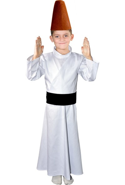 Oulabimir Semazen Kostümü Çocuk Kıyafeti