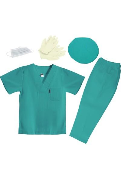 Oulabimir Doktor Kostümü Ameliyat Cerrah Kıyafeti