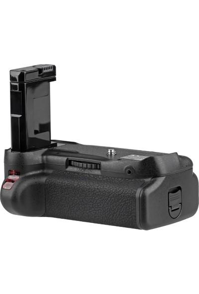 Nikon D5200 D5100 İçin Ayex Ax-D5100 Ir Kumandalı Battery Grip + 1 Ad. En-El14 Batarya