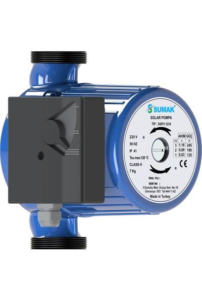 Sumak SSP3-32/6 Sirkülasyon Pompası 6 mss 5 m³/h