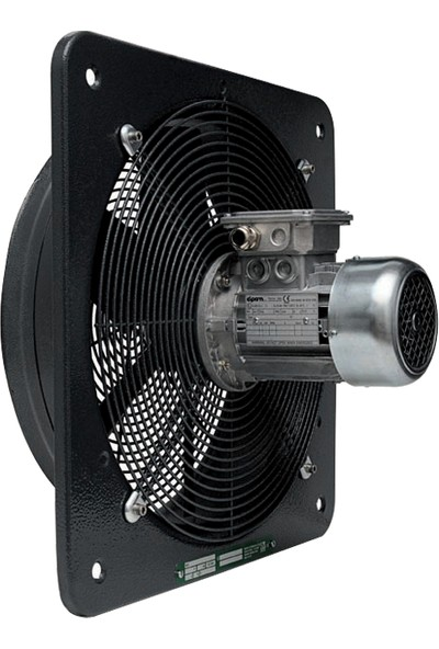 ATEX E 354T Exproof Duvar Tipi Aksiyel Fan 2550 m³ 1400 RPM