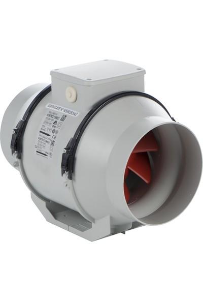 Vortice Lineo150V0 Çift Kademeli Kanal Tipi Fan 550 m³ 1580 RPM