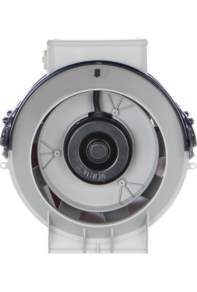 Vortice Lineo100V0 Çift Kademeli Kanal Tipi Fan 255 m³ 1520 RPM